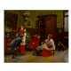 Paul CHOCARNE MOREAU, 'An unsuitable pastime', oil on canvas