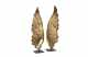 Gold Leaf Wing Table Top Accent Set Of 2