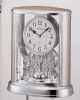 Silver Teardrop-Contemporary Motion clock