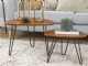 Hairpin Leg Nesting Coffee Table Set