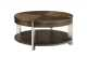 Contemporary Round Cocktail Table by Bauhaus