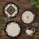 Chalet 16 PC Aztec Southwest Dinnerware Set