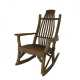 Bentwood Rustic Rocking Chair